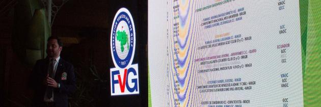 Federación Venezolana de Golf realizó preventa para el año 2021