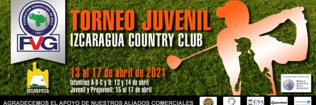 Nueva fecha para el Torneo Juvenil en el IZCC – Horario