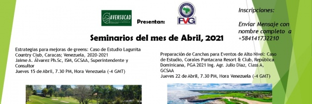 AVENSUCAD dictará seminarios en abril