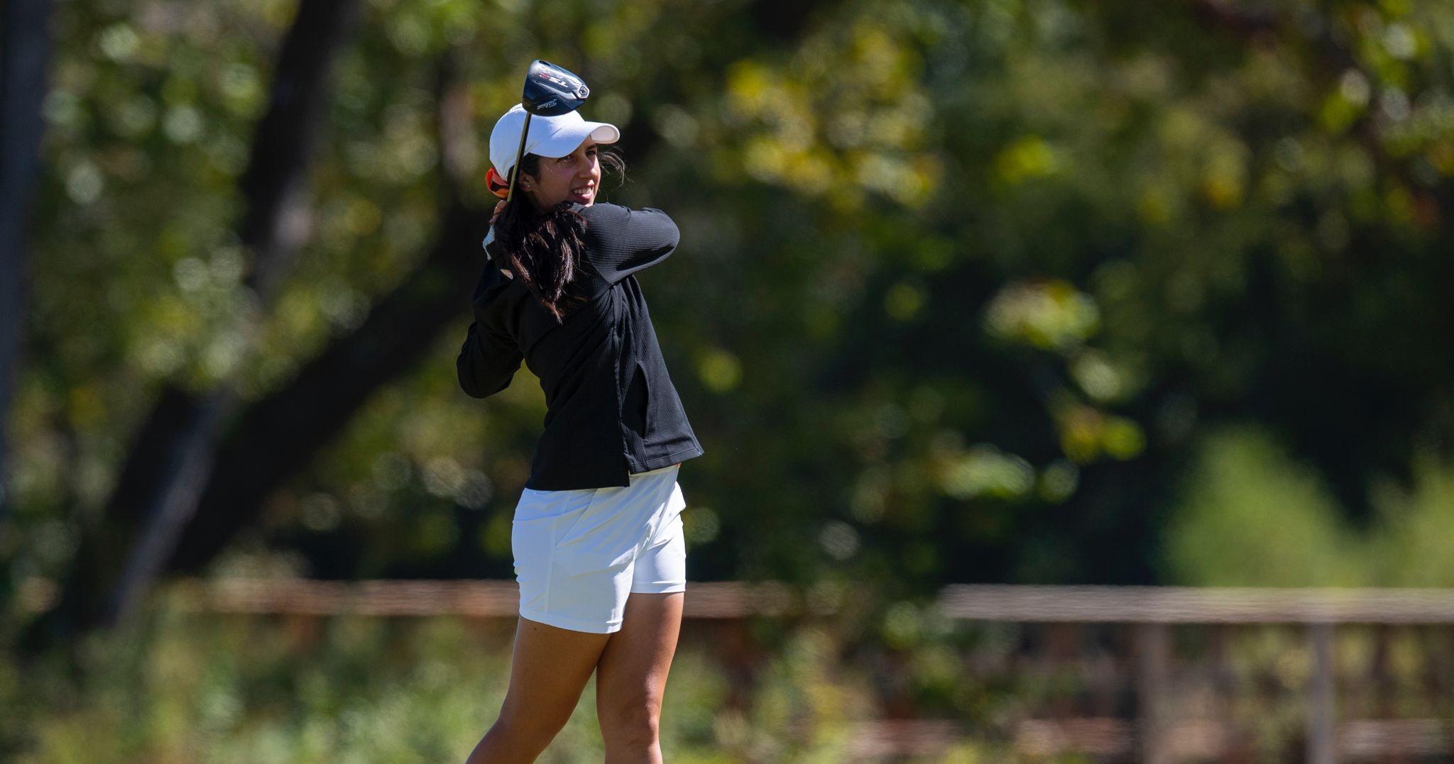 Vanessa Gilly brilla en golf universitario