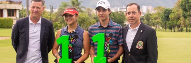 Virgilio Paz e Ivanna Flores campeones del Abierto Sambil Juvenil