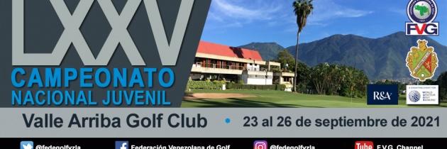 LXXV Campeonato Nacional Juvenil 2021