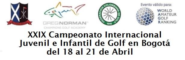 XXIX Campeonato Internacional Juvenil e Infantil de Golf en Bogotá