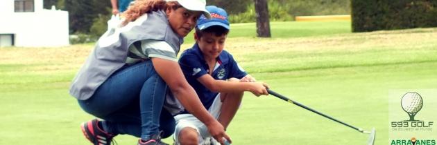 Mentalidad en el golfista junior