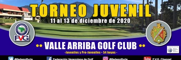 Torneo Juvenil Valle Arriba Golf Club