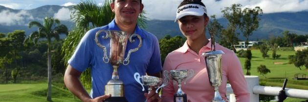 Ivanna Flores y José Miguel Ramírez Campeones Juveniles de Venezuela