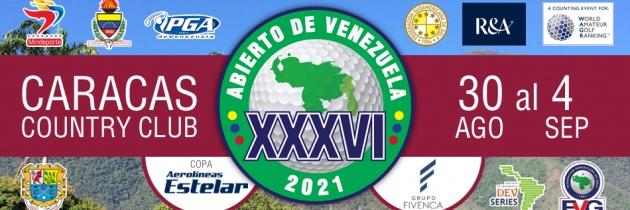 Abierto de Venezuela Copa Aerolíneas Estelar – Horarios de Salida